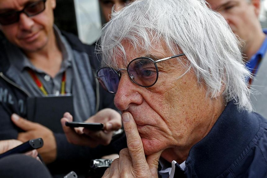 Formula One's commercial ringmaster Bernie Ecclestone (above, in August) warned on Friday that the sport's financial crisis could reduce the grid to 14 cars in 2015.After the withdrawal of both the Caterham and Marussia teams for this weekend's