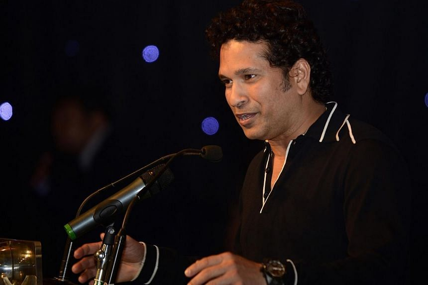 """Cricketing great Sachin Tendulkar felt so """"scarred"""" and """"devastated"""" by the Indian team's losing streak under his captaincy that he contemplated leaving the game in the late 1990s, the master batsman has written in his autobiography. -- PHOTO: AFP"""