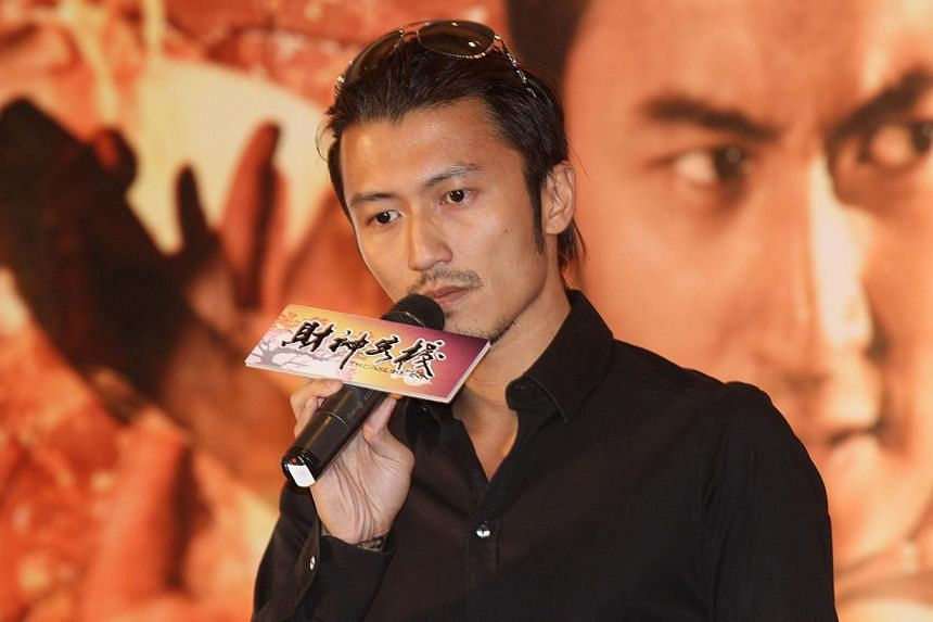 Nicholas Tse has been lauded as an entertainment tycoon in the media after a stake he bought in a Hong Kong entertainment and media company made him richer on paper by HK$140 million (S$23 million). -- PHOTO: APPLE DAILY