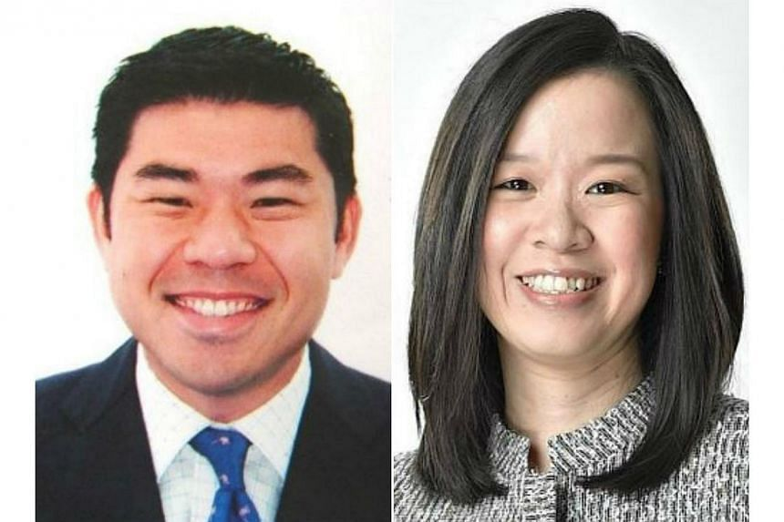Mr Gabriel Lim (left) will be taking over as chief executive officer of the Media Development Authority from Ms Koh Lin-Net. -- PHOTOS: MCI