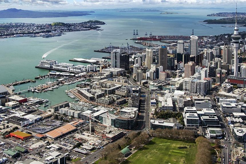 GIC's latest investment, a commercial area known as the Viaduct Quarter in New Zealand's Auckland. --PHOTO: GIC