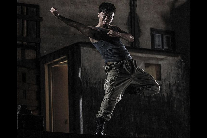 Director Teddy Chan on working with Donnie Yen and China actor Wang Baoqiang (above).