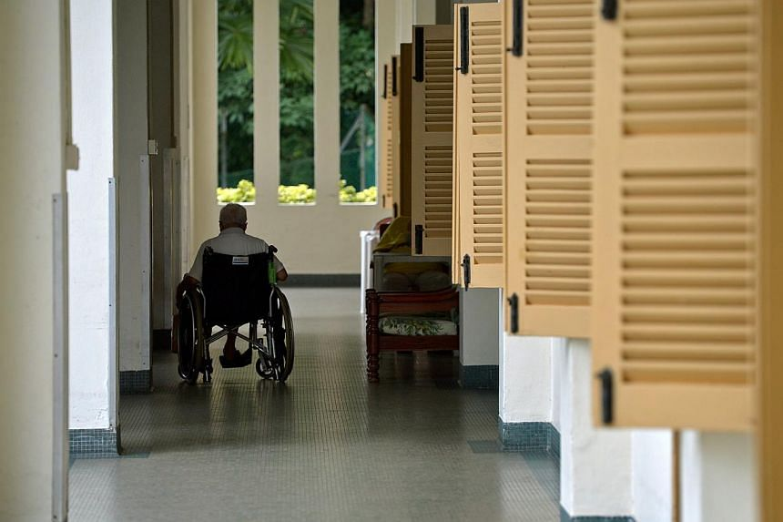 Many buildings in the US are ADA-compliant but still difficult to navigate for older adults who have one or more physical, sensory or cognitive challenges, and especially for the frail elderly who have many.-- ST PHOTO:KUA CHEE SIONG