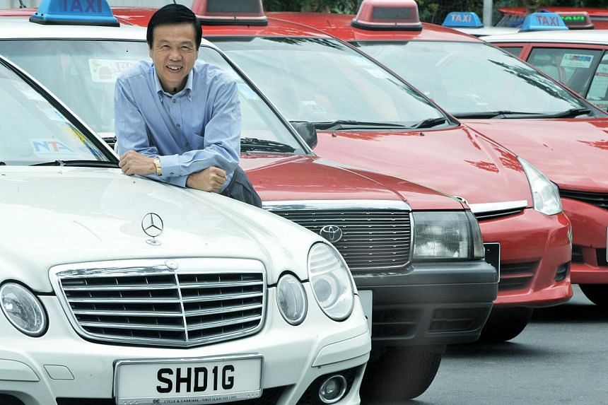 Teo Kiang Ang, founder of Trans-Cab Services (TransCab). Trans-Cab, Singapore's second largest taxi operator, has lodged its preliminary prospectus for public listing. -- PHOTO: ST FILE