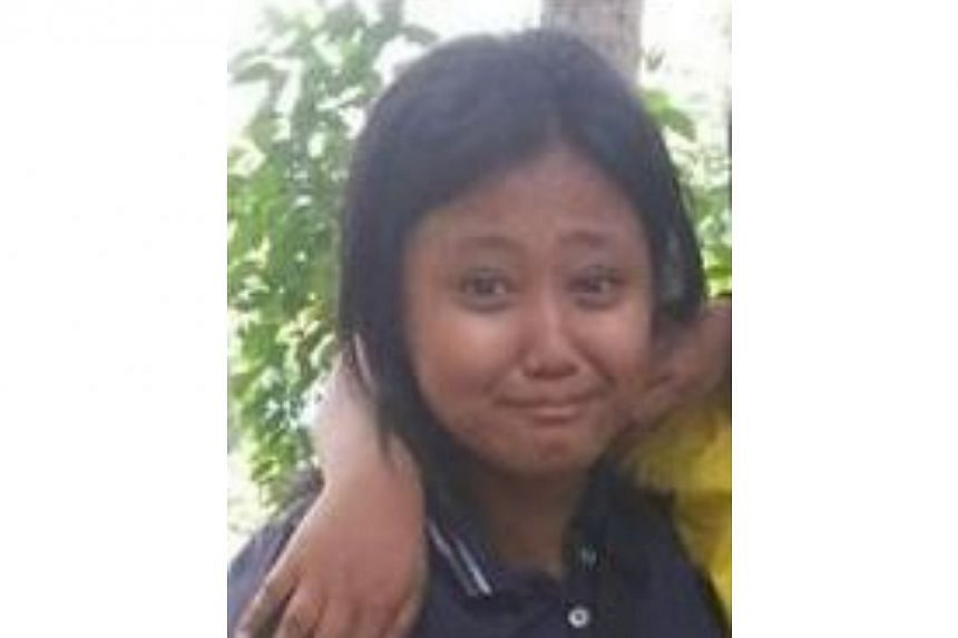 Police are appealing for information on the whereabouts of 13-year-old Hasfika Wardania Abdullah. She was last seen at the vicinity of Block 4, Marsiling Road on Oct 21 at about 6.30am. -- PHOTO: SINGAPORE POLICE FORCE