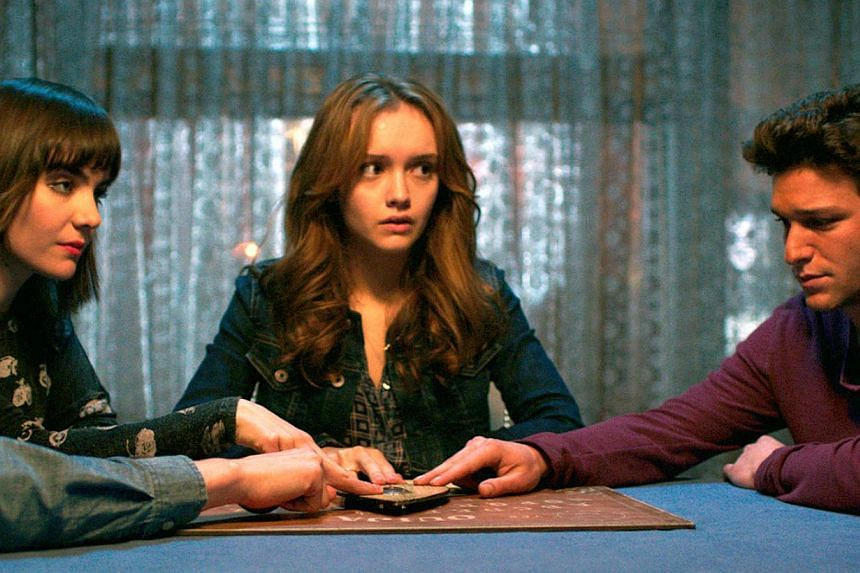 Ouija, which went straight to number one last weekend, earned US$10.7 million (S$13.8 million) in its second week in theatres, box office tracker Exhibitor Relations said. -- PHOTO: UNIVERSAL PICTURES