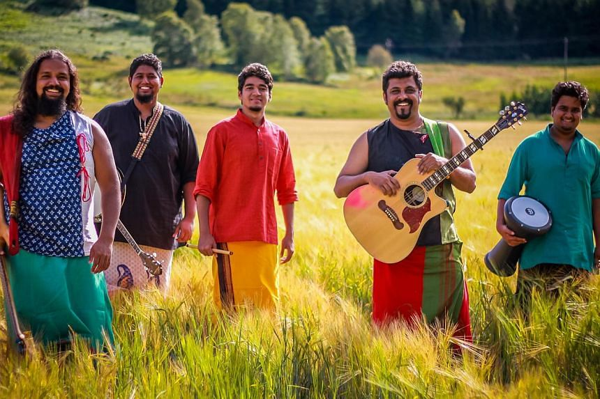 The Raghu Dixit Project are known for their unique blend of Indian folk music and Western pop sounds. -- PHOTO: THE ESPLANADE