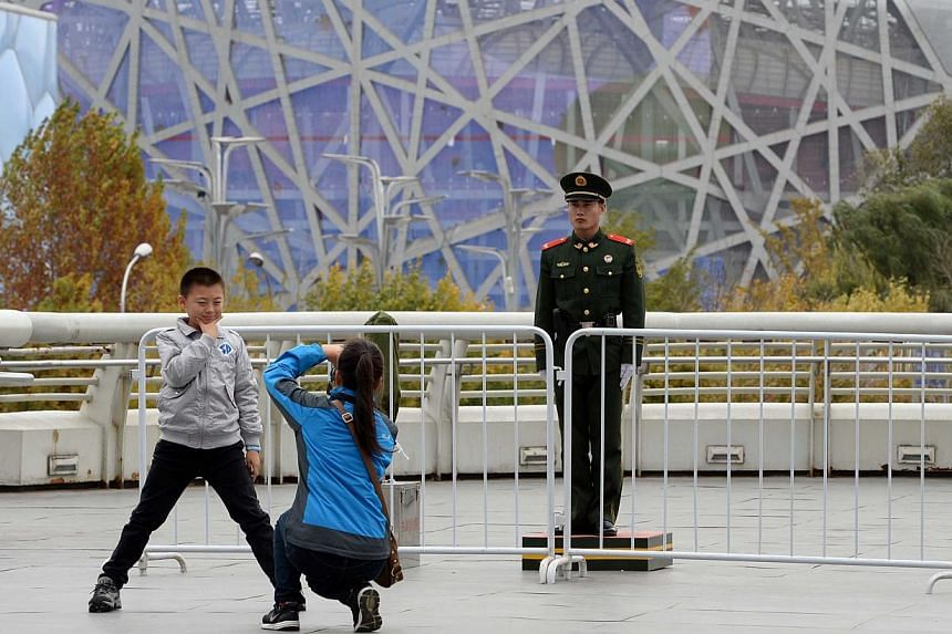 Beijing is confident it can host the 2022 Winter Olympics, an official said Tuesday, after several withdrawals left the bid - initially seen as a dry run for a future event - the unlikely favourite. -- PHOTO: AFP