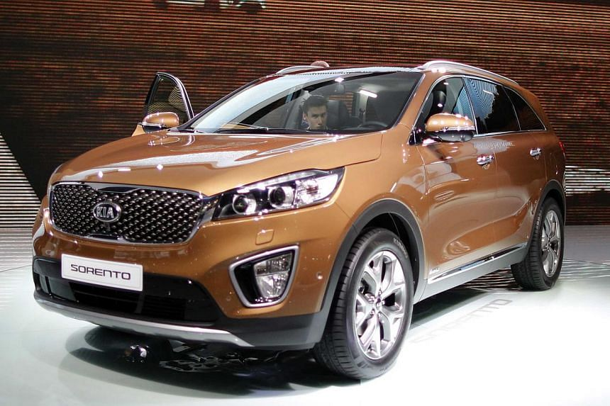 Korean carmakers Hyundai Motor Co and affiliate Kia Motors Corp (pictured) will pay $451.5 million in penalties to the U.S. government for overstating vehicles' fuel economy ratings in what officials say is the biggest settlement of its kind. -- PHOT