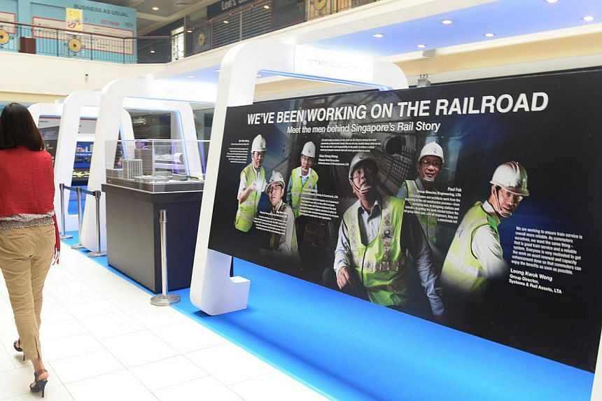 Visit the LTA's roadshows and get an idea of what it takes to build those MRT tunnels as well as learn about rail expansion plans.