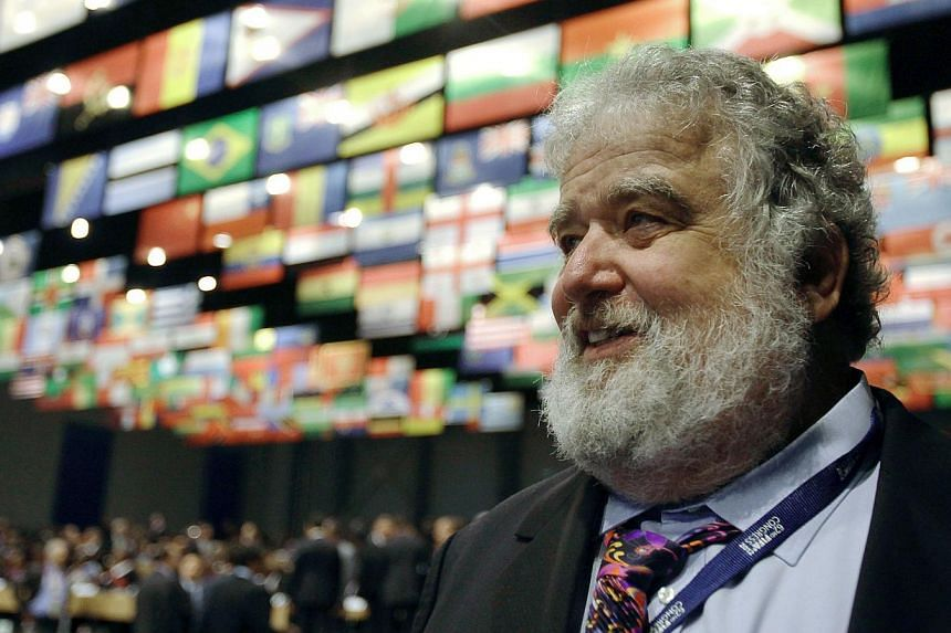 Chuck Blazer (above, in a 2012 file photo), once the most powerful man in US football, was an FBI informant used to spy on Fifa, the New York Daily News reported on Nov 4, 2014. Blazer, who is now suffering from cancer, secretly recorded conversation