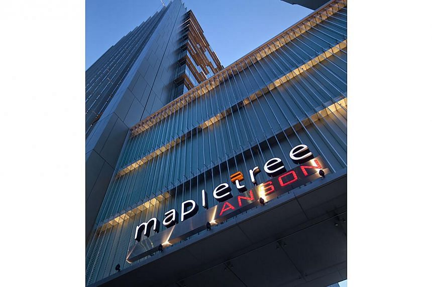 Mapletree's 19-storey office tower in Singapore's Central Business District. A number of real estate investment trusts (Reits) and other market players have banded together to form a Reit industry association. -- PHOTO: MAPLETREE
