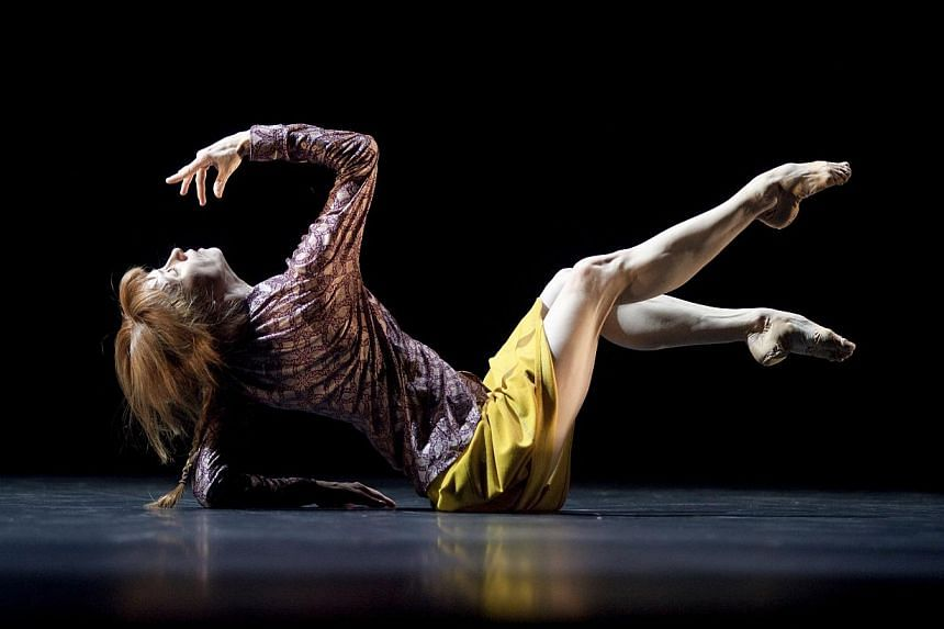 French ballet superstar Sylvie Guillem performing in 6,000 Miles Away. The world-renowned French ballerina will dance a series of farewell performances next year in a programme entitled Life In Progress, that will be produced by London's Sadler's Wel