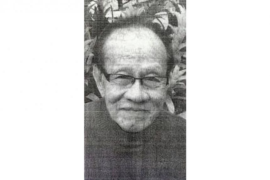 Singaporean Ng Yam Kuang, 75, has been reported missing in Genting Highlands. -- PHOTO: SIN CHEW DAILY