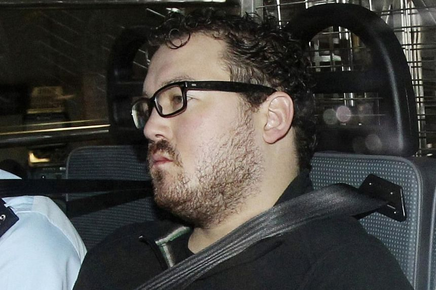 Wealthy British banker, Rurik Jutting who is being charged over grisly twin murders in Hong Kong was a regular in a shabby red-light district of the Philippines where he liked to flash his cash and was treated like a king. -- PHOTO: REUTERS