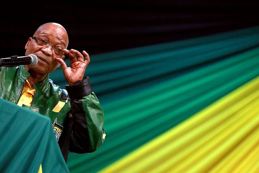 A South African court has sentenced two members of a right-wing group convicted of high treason for plotting to kill President Jacob Zuma to eight years in prison, state prosecutors said Thursday. -- PHOTO: AFP