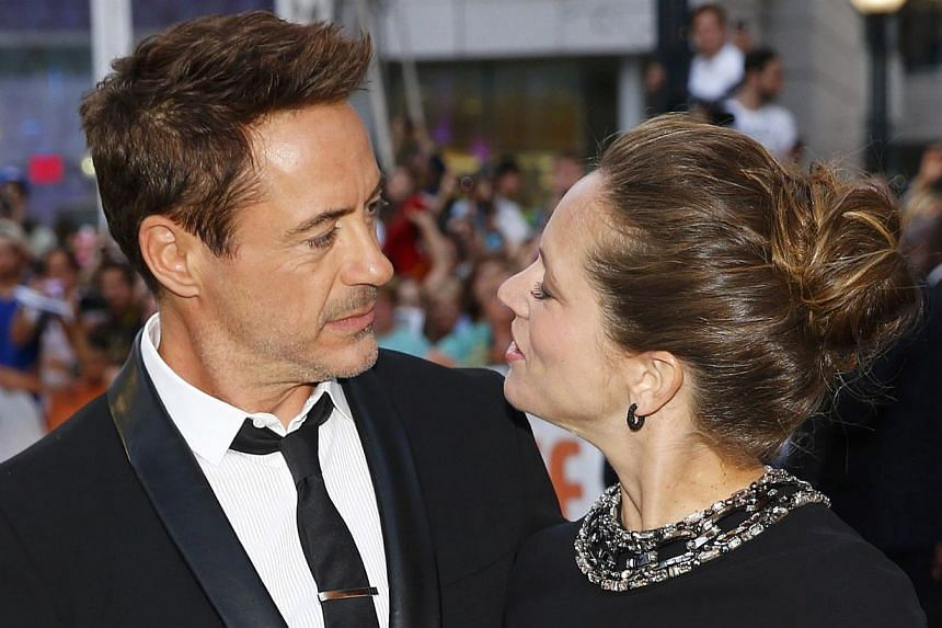 Actor Robert Downey Jr and his wife, producer Susan Downey, at the Toronto International Film Festival on Sept 4, 2014. Forty-nine year-old Iron Man star Robert Downey Jr has welcomed a second child with his wife Susan, a baby girl named Avri, he ann