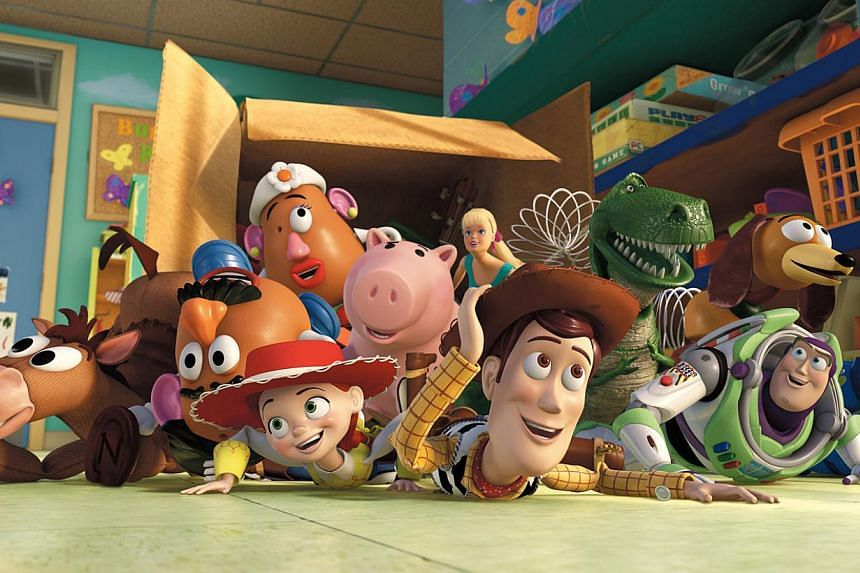 A cinema still from Toy Story 3. Walt Disney will extend one of Pixar's most successful film franchises by making Toy Story 4 for release in 2017. -- PHOTO: ST FILE