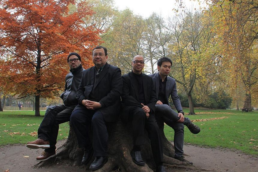 The Asian Jazz All-Stars Power Quartet is led by Jeremy Monteiro (second from left). -- PHOTO:VARIAN MONTEIRO