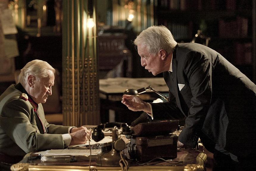 A still from Diplomacy, a film about pivotal negotiations in 1944 which saved Paris from Nazi destruction. -- PHOTO:JEROME-PREBOIS-GAUMONT