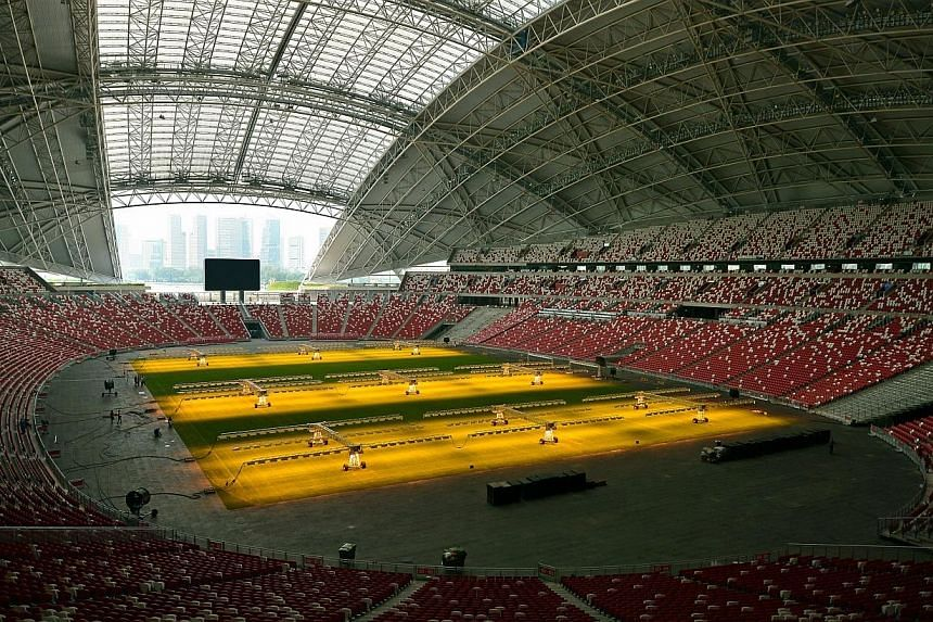 The Football Association of Singapore (FAS) has announced today that tickets for Myanmar fans for all three group matches at the Asean Football Federation Suzuki Cup are sold out. -- ST PHOTO:KUA CHEE SIONG