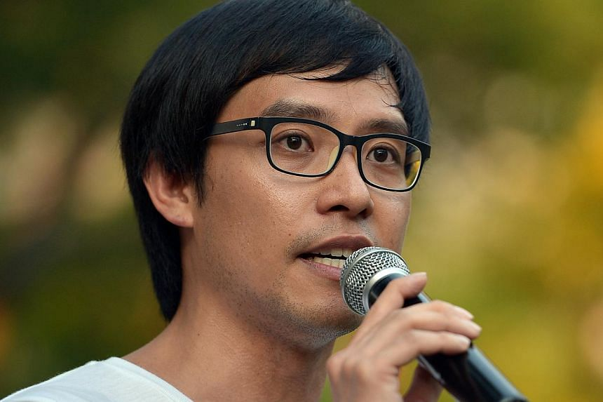 Blogger Roy Ngerng was found to have defamed Prime Minister Lee Hsien Loong in a blog post comparing the Prime Minister to City Harvest Church leaders.--ST PHOTO: KUA CHEE SIONG