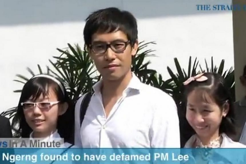 In today's News In A Minute, we look at blogger Roy Ngerng found to have defamed Prime Minister Lee Hsien Loong in a blog post suggesting that CPF monies were misappropriated. -- PHOTO: SCREENGRAB FROM RAZORTV