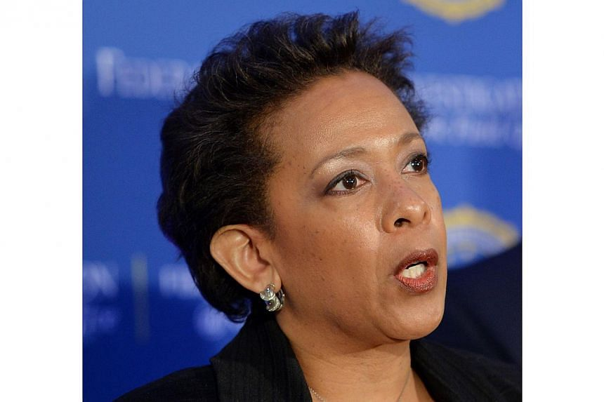 US Attorney for the Eastern District of New York Loretta Lynch. -- PHOTO: AFP