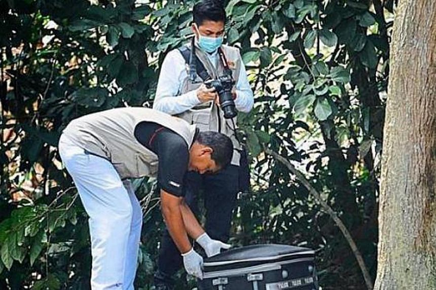 On Thursday, a woman was found in Penang brutally murdered and her body was without a head and legs. -- PHOTO: THE STAR