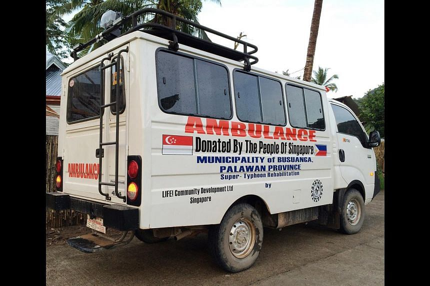 The SRC's aid efforts include land and sea ambulances.