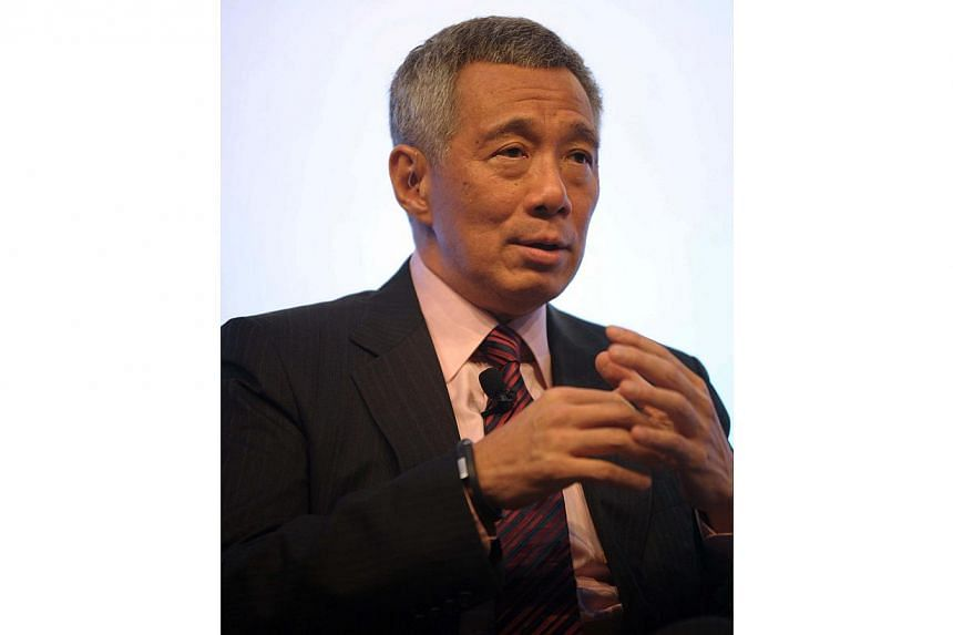Prime Minister Lee Hsien Loong will attend two back-to-back summits in China and Myanmar, over a five-day trip that starts on Sunday. -- PHOTO: AFP