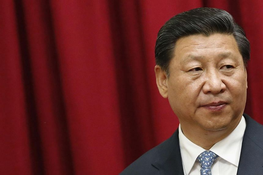 China's economy is stable and the risks that it faces are not that scary, President Xi Jinping said on Sunday in a speech at the Asia-Pacific Economic Cooperation (Apec) CEO Summit. -- PHOTO: REUTERS