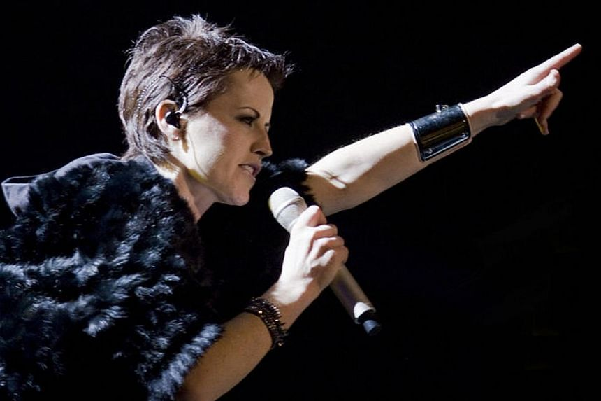 Cranberries lead singer Dolores O'Riordan was arrested over an alleged assault on a flight stewardess during a flight from New York to Ireland. -- PHOTO: WIKIMEDIA COMMONS