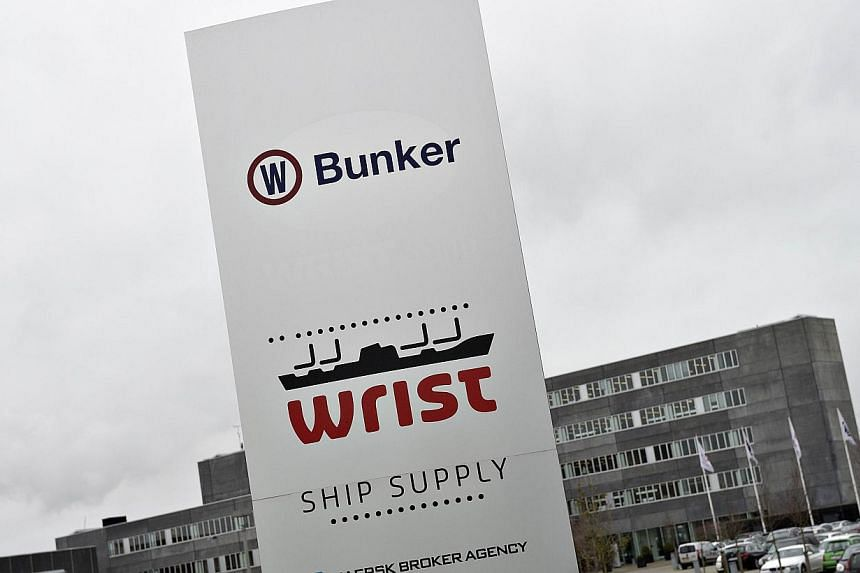 The sign in front of OW Bunker headquaters in Aalborg. One of Denmark's largest companies, ship fuel supplier OW Bunker, on Nov 7 filed for bankruptcy after saying it had discovered a $125 million (100 million euros) fraud at its subsidiary in Sing
