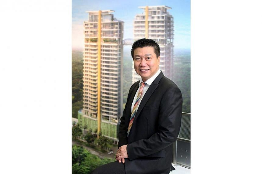 Mr Francis Koh, Managing Director and Group Chief Executive Officer of Koh Brothers Group Limited. Real estate and construction group Koh Brothers chalked up a 3 per cent rise in third quarter net profit to $7.1 million. -- PHOTO:&nbsp