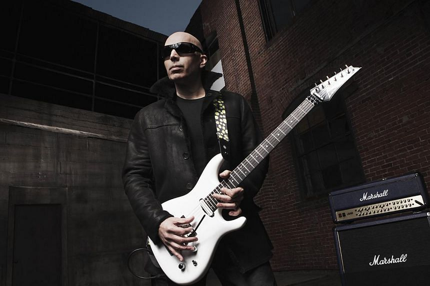 Satriani performs at the Star Theatre for the first time on Thursday, Nov 13, 2014. -- PHOTO: JOE CHAPMAN