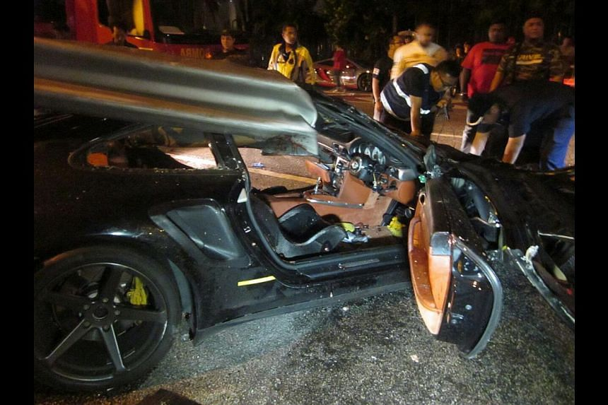 Mr Kwek is remembered as KC - car lover, ace pool player, good nightclub host. Mr Kwek Kon Chun crashed his Porsche 911 Turbo (above) while driving along the KL-Seremban Expressway on Sunday morning. He and his passenger, Mr Franco Toh, died on the s