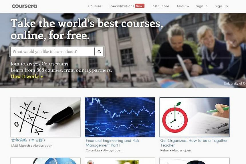 Five things to know about online learning platform Coursera