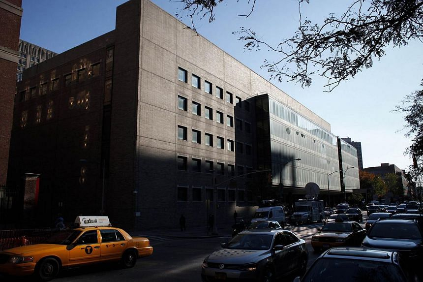 Dr Craig Spencer, who was infected with Ebola and treated in New York's Bellevue Hospital (above) after caring for patients in Guinea, is likely to be released on Nov 11, 2014. -- PHOTO: AFP