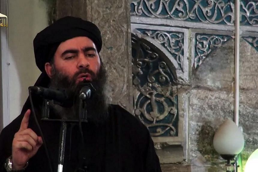 If ISIS leader Abu Bakr al-Baghdadi has in fact been killed or seriously wounded, it could spell trouble for the group. -- PHOTO: AFP