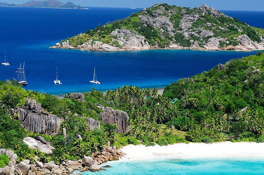 The president of the Seychelles on Tuesday urged the planet's small island nations to unite for an unprecedented campaign against climate change or else drown. -- PHOTO:SEYCHELLES TOURISM BOARD