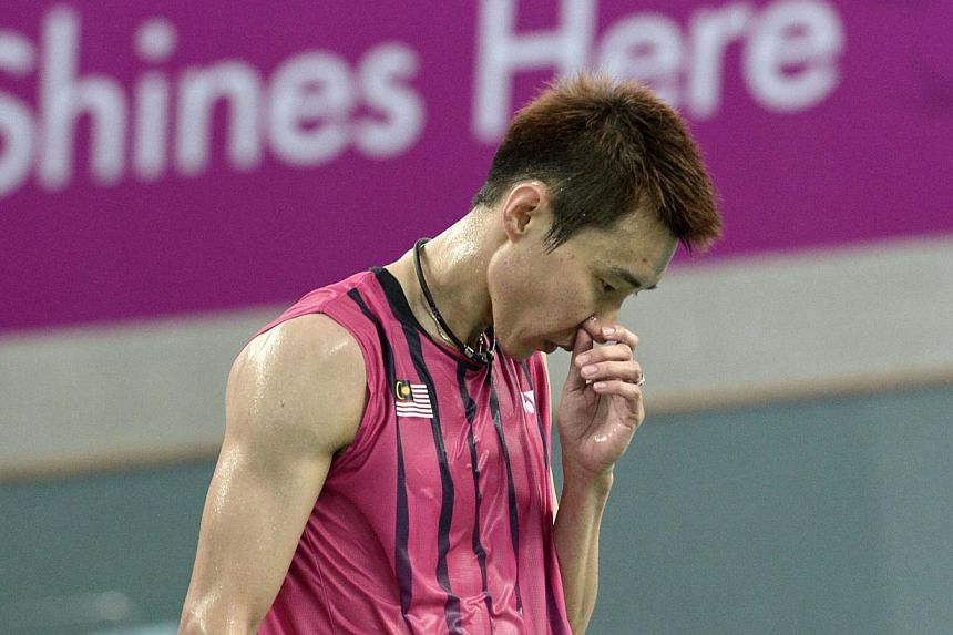 """Malaysia's world No. 1 Lee Chong Wei has been provisionally suspended for an """"apparent"""" anti-doping violation, the Badminton World Federation (BWF) said on Tuesday. -- PHOTO: AFP"""