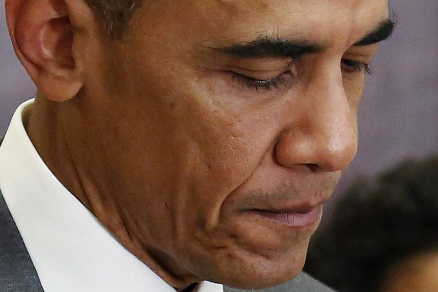 There are long-held beliefs within the party that Mr Obama is not a team player and his well-oiled political machinery serves a single person. -- PHOTO: REUTERS