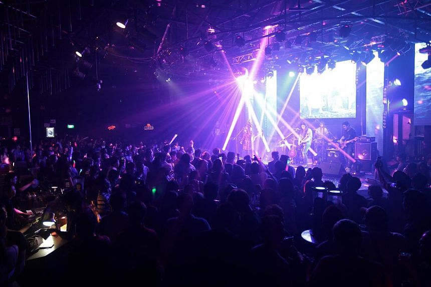 A Club Neverland party night. A tribute will be made by veteran local mandopop band Queen Incat Asian-fusion club Sonar for Neverland's co-founder Kwek Kon Chun and regional marketing director Franco Toh. -- PHOTO: THE NEVERLAND GROUP