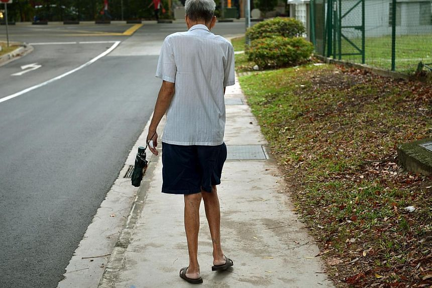 Singapore sees a few hundred cases of elder abuse every year, but these numbers may well be the tip of the iceberg. -- ST PHOTO: KUA CHEE SIONG