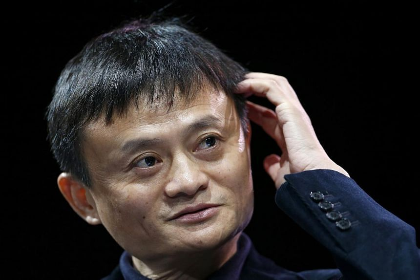 """Mr Jack Ma may be China's richest man, but the founder of e-commerce giant Alibaba has admitted in a United States television interview that being so wealthy is actually causing him """"great pain"""". -- PHOTO: REUTERS"""