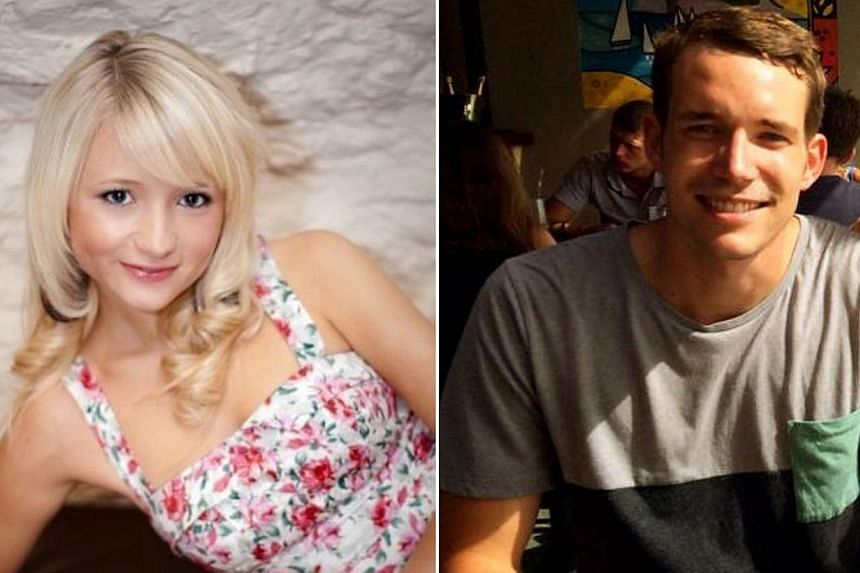A combination of handout images shows British students Hannah Witheridge (left) and David Miller.British police have departed from Thailand after reviewing an investigation into the murder of the two Britons on a southern Thai island and will n