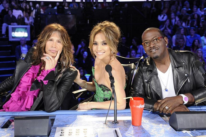 American Idol judges (from left) Steven Tyler, Jennifer Lopez and Randy Jackson in a 2012 photo. -- PHOTO: FOX