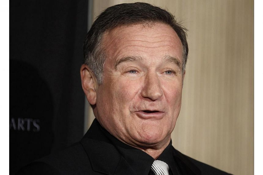 Actor Robin Williams suffered from Lewy body dementia, and that led to his suicide in August, according to reports. -- PHOTO: REUTERS