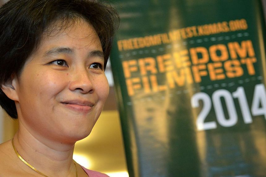 """Ms Tan Pin Pin had appealed to the Films Appeal Committee in September after her film on Singapore's political exiles, To Singapore, With Love, was given a """"Not Allowed for All Ratings"""" classification by the MDA. This means the film cannot be distrib"""